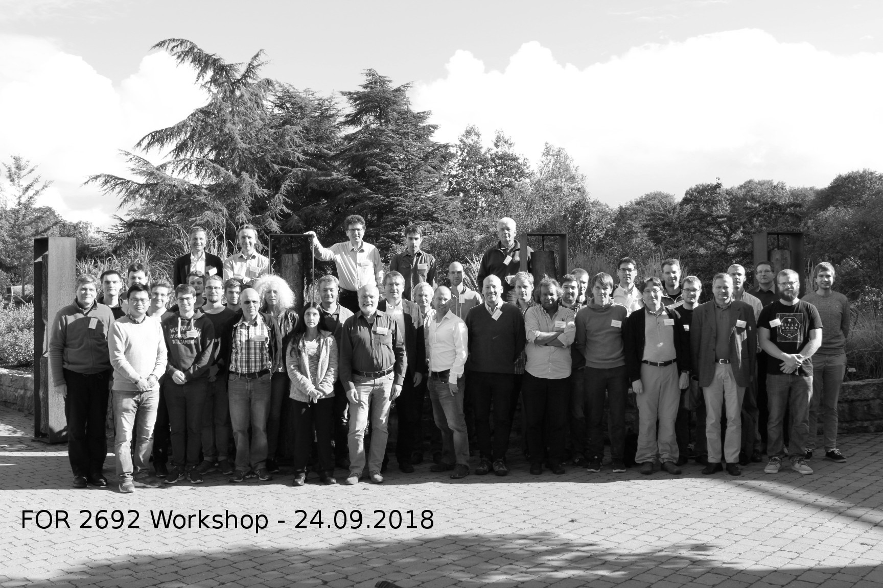 FOR 2692 Workshop - 24.09.2018